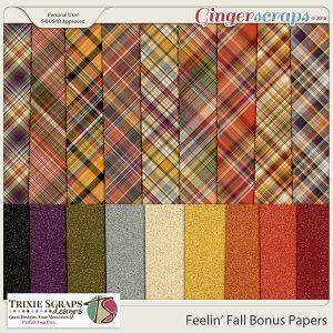 Feelin' Fall Bonus Papers