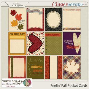 Feelin' Fall Pocket Cards