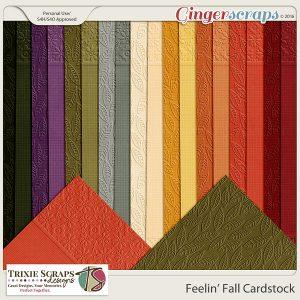 Feelin' Fall Cardstock