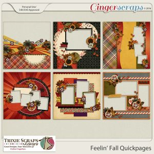 Feelin' Fall Quickpages