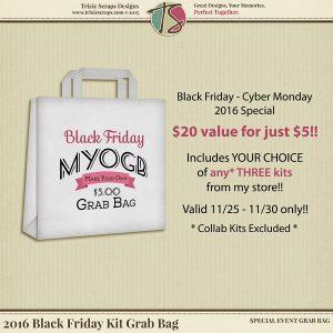 Black Friday Kit Grab Bag