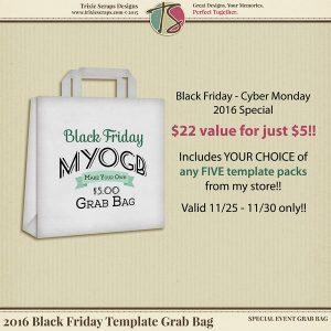 Black Friday Template Grab Bag