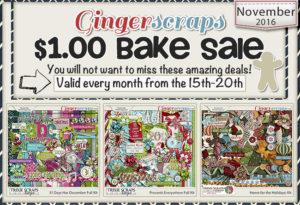November 2016 Bake Sale