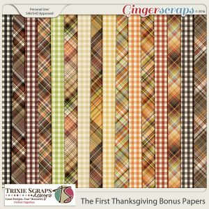 The First Thanksgiving Bonus Papers