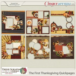 The First Thanksgiving Quickpages