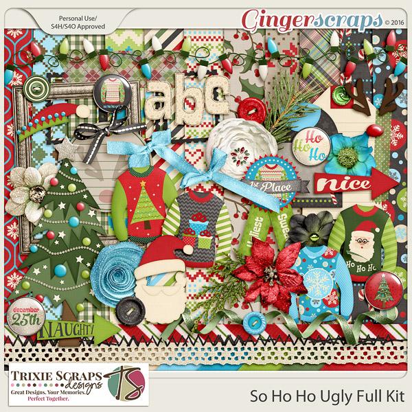 So Ho Ho Ugly Full Kit