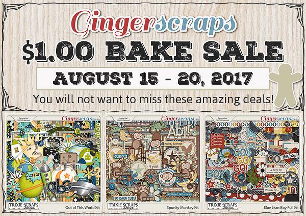 August 2017 Bake Sale