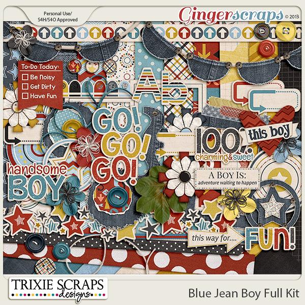 Blue Jean Boy Kit