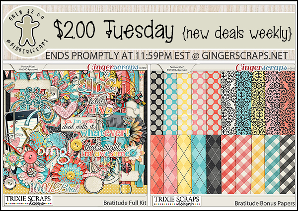 $2 Tuesday for June 23