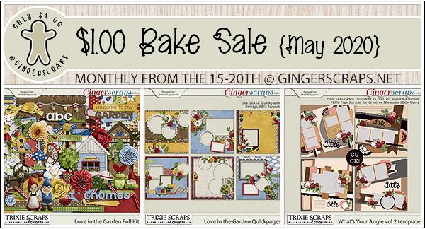 Trixie Scraps May 2020 Bake Sale