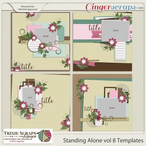 Standing Alone vol 8 templates