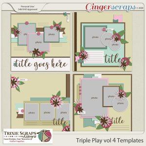 Triple Play vol 4 template pack