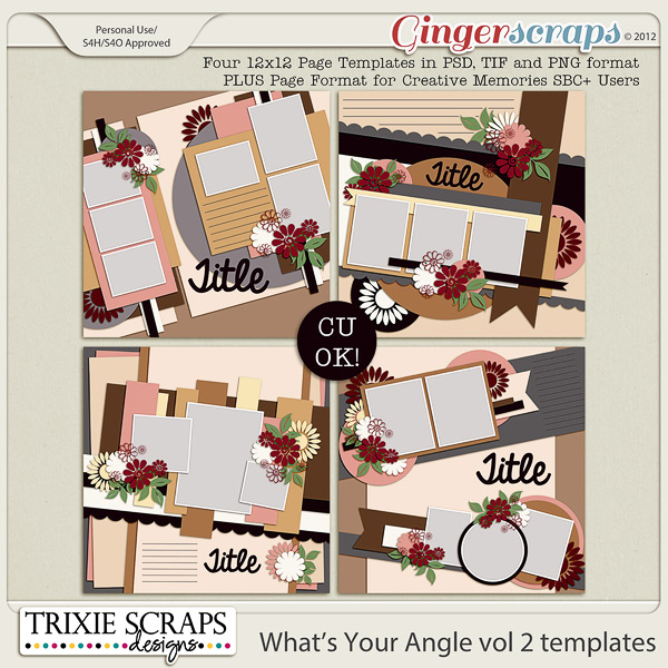 What's Your Angle vol 2 by Trixie Scraps Designs