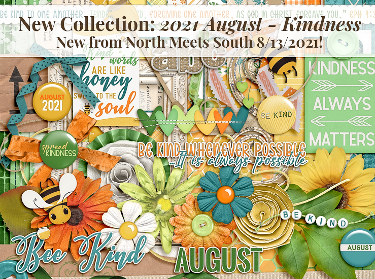 August 2021 Kindness Collection from NMSS