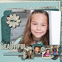 Crazy Beautiful Girl