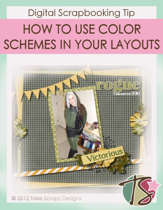 How To Use Color Schemes in Layouts